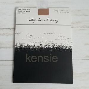 NWT Kensie Silky Sheer Control Top Hosiery